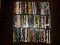 Private collection of 100 dvds suit carbooter