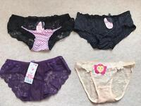 ladies underwear all new with tag. 2 for £5
