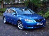 AA WARRANTY!!! 2005 MAZDA 3 1.6 TS 5dr AUTO, 1 FORMER KEEPER, 1 YEARS MOT, ONLY 38000 MILES