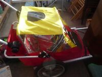 Bike trailer buggy