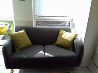 Two Seat John Lewis Sofa with Cushions