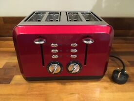 CookWorks 4 Slice Toaster Stainless Steel New | in