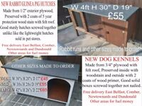Dog kennels Rabbit hutches