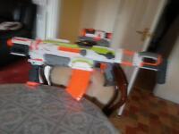 Modulus ECS 10 Nerf gun with acceriores