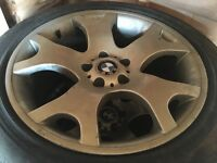 "19"" BMW X5 Tiger Claws alloys with good tyres"