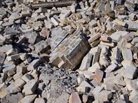 Wanted - Looking For All Types of Rubble, Bricks, Tiles, Gravel, Stones... WILL TAKE FOR FREE.