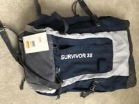 Regatta backpack 35l never used