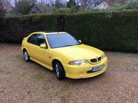 Yellow MG ZS