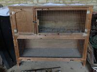 Two Tier Guinea Pig/Rabbit Hutch
