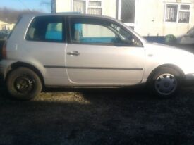 Seat Arosa 1.4 Auto W Reg. Same As Vw Lupo Only 79,000 miles Cheap Tax.