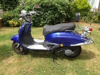 125cc Blue 2013 Scooter
