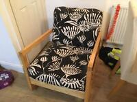 IKEA CHAIR ROCKER and 2 COVERS