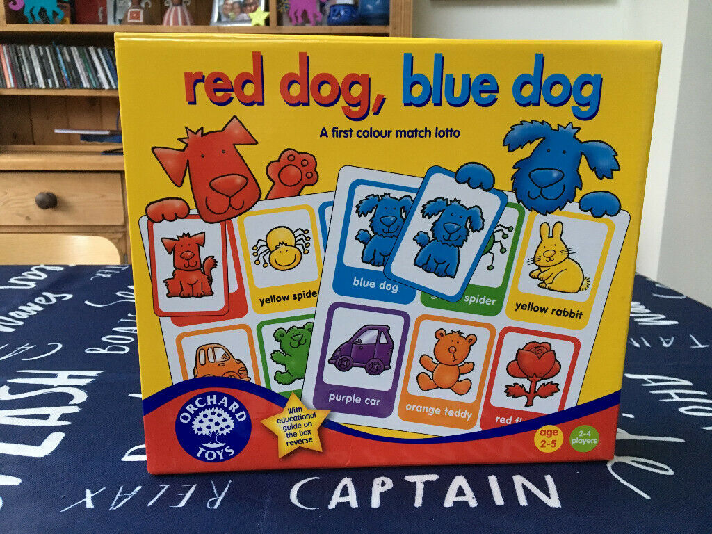 Other Educational Toys Toys & Hobbies Orchard Toys Red Dog Blue Dog