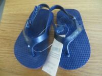Baby Gap 12-18 month flip flops, new with tags.