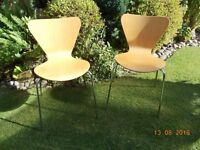 Arne Jacobsen 7 Series Style Chairs