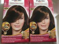 2 boxes of Palette hair dye