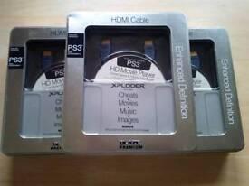 PS3 Blaze cheats,media,movie disc+lead