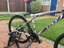 G.T. Aggressor XC3 mountain bike' 24 Shirmaro gears, Quick release wheels, Spare set off road tyres,