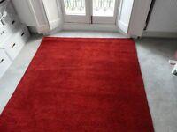 Adum Ikea Red Rug 170cm x 240cm