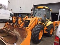 Special edition JCB digger with 3 tonne pecker & 14 ft reach