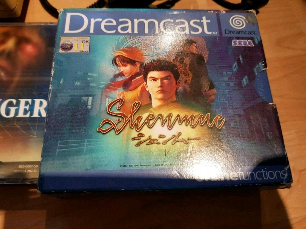 Dreamcast shenmue 1 and 2