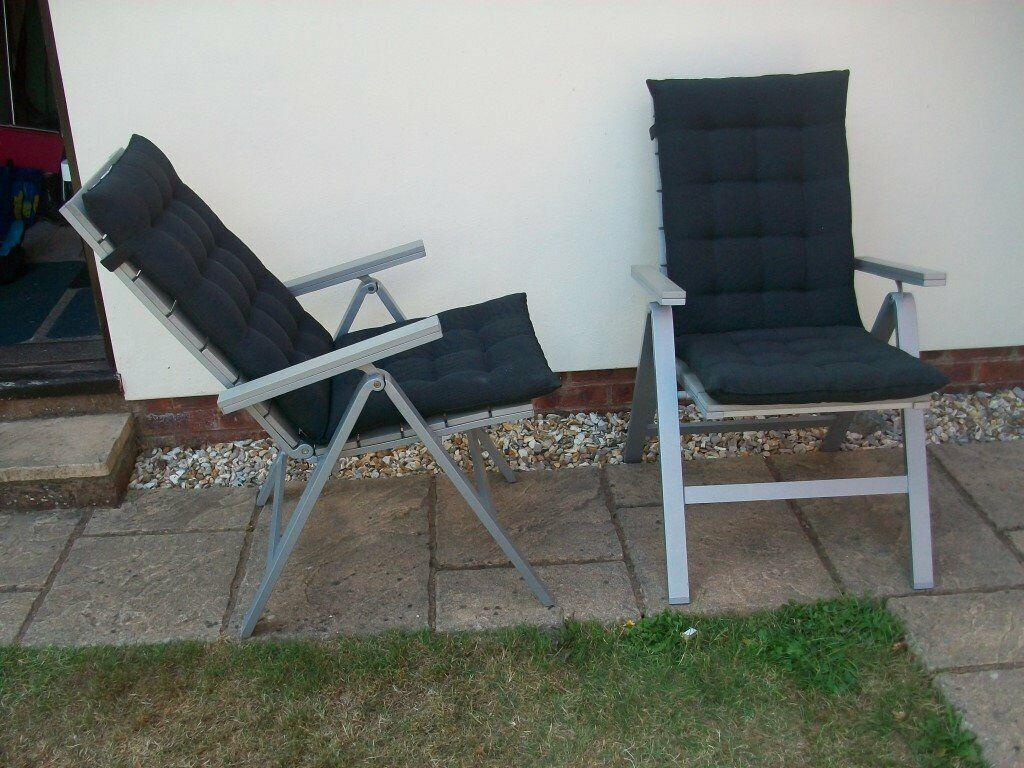 Enjoyable Ikea Reclining Garden Chairs In Kingsteignton Devon Gumtree Creativecarmelina Interior Chair Design Creativecarmelinacom