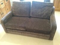2 Seat Sofa Bed + Armchair