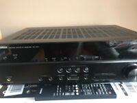 Yamaha RX-V371 - AV receiver - 5.1 channel - black