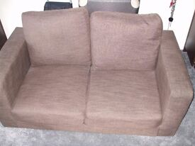 2 off two seater sofas, 6 months old
