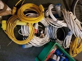 caravans or traileror cables