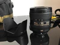 Nikon lens 24-85mm f3.5-4.5G with VR