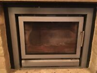 Log Burner - Stovax Riva 66 8kW Inset Wood Burning Stove