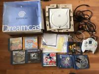 Sega Dreamcast console & games