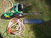 Qualcast GCS400 2000 watt Electric Chainsaw
