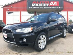 2011 Mitsubishi Outlander XLS, Leather, AWD, WE APPROVE ALL CRED