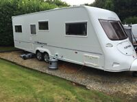 Fleetwood Heritage 640ES Twin Axle 4 birth caravan 2006