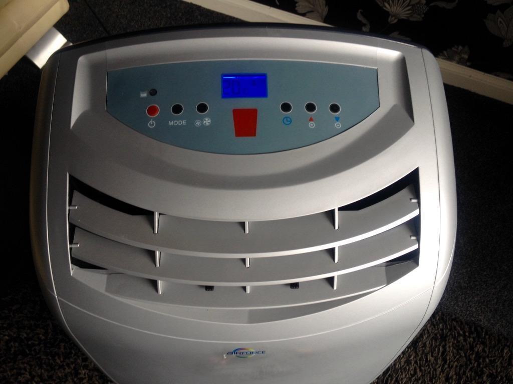 Air Force 12000Btu Portable Air Conditioner/Dehumidifier/Fan/Heater  #0405B7