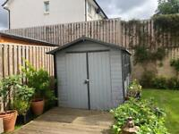 Garden shed wood 4x2 metres 11' x 7'