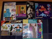 large bundle of kids arts and crafts and games