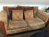 TWO SEATER SOFA FOR SALE 07740390474