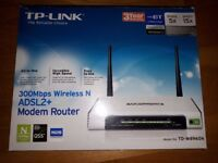 Wifi Extender and Router, TP-Link
