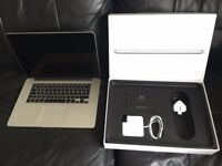 "MacBook Pro Retina 15"" 3.5GHz - i7, 512GB SSD, 16GB memory, Adobe CS6, Logic, Final Cut"