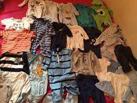 Baby boys 0-3 months clothes bundle including Ralph Lauren