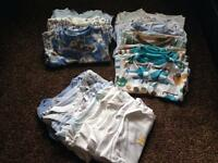 Bundle of baby boy newborn &0-3 clothes