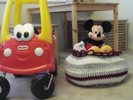 COZY COUPE RED AND YELLOW - VERY GOOD CONDITION