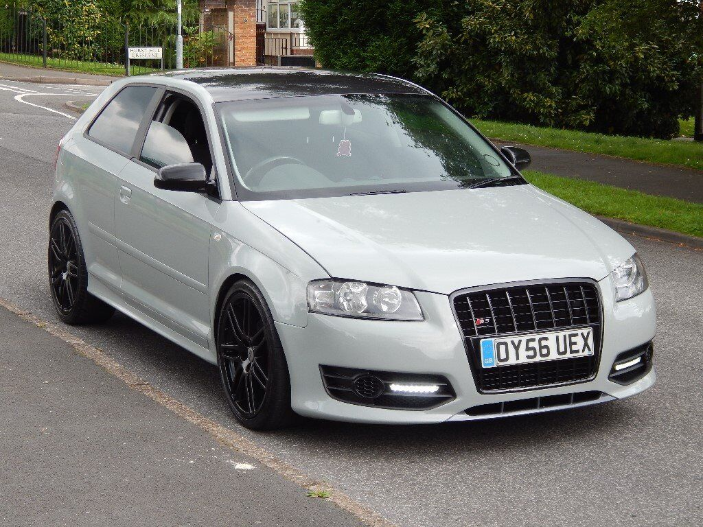 2006 audi a3 2 0 tdi sport s3 replica in nardo grey very rare car moted in stalybridge. Black Bedroom Furniture Sets. Home Design Ideas