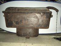 Vintage Cast Iron Toilet Cistern