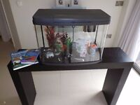 "64 Litre ""Love Fish"" Tropical Tank & Accessories"