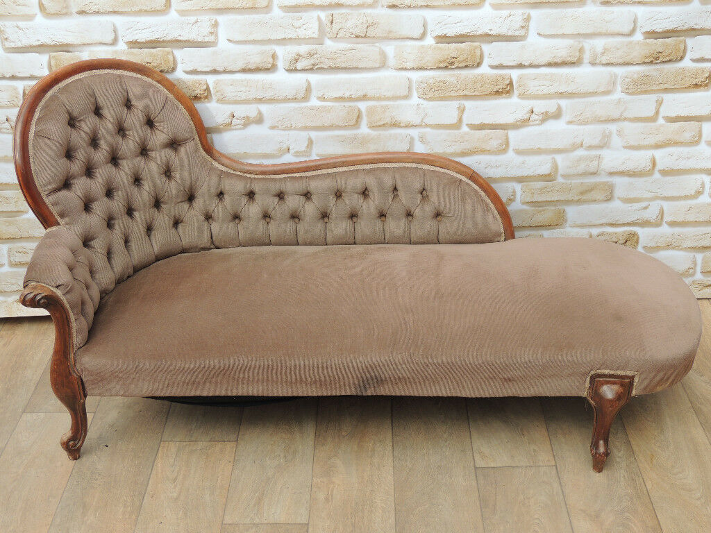 Unique Chaise Lounge Antique Chesterfield Delivery In