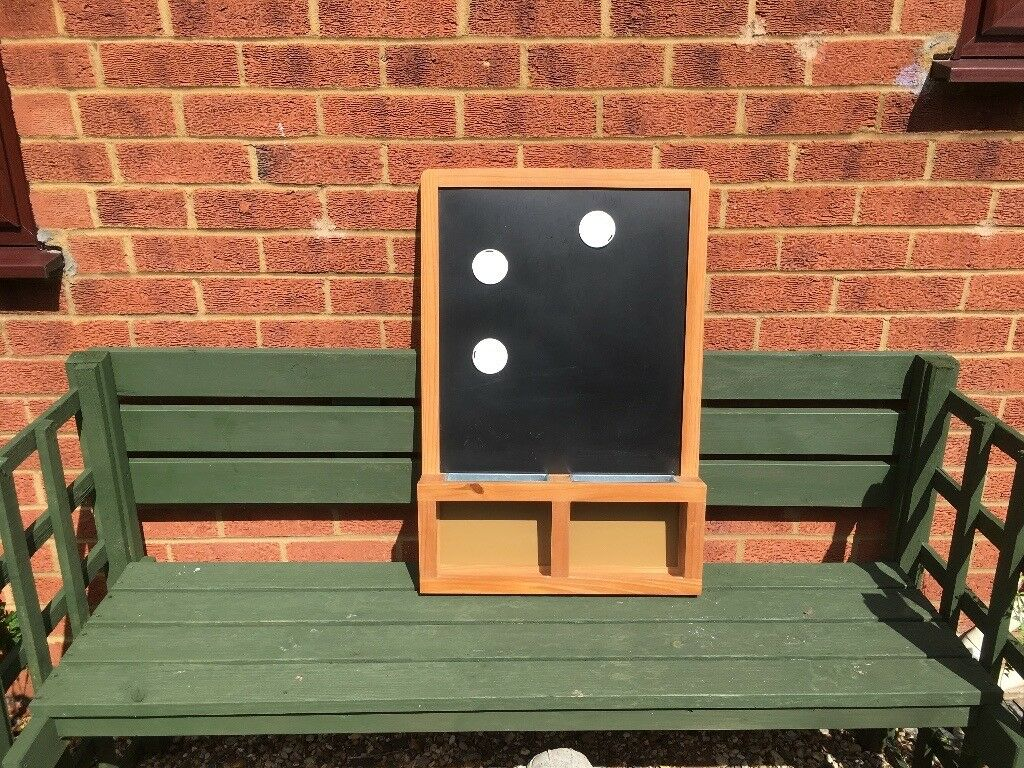 Ikea blackboard/memo board comes with chalk and magnets. Wall hanging